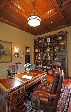 Проекты традиционный домашний офис