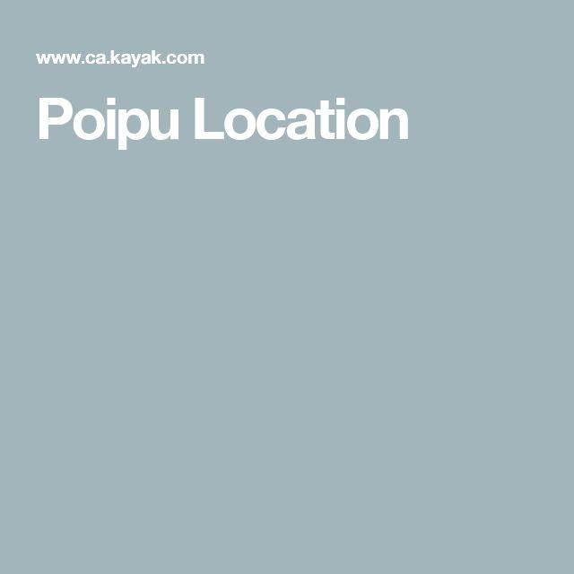 Poipu Location