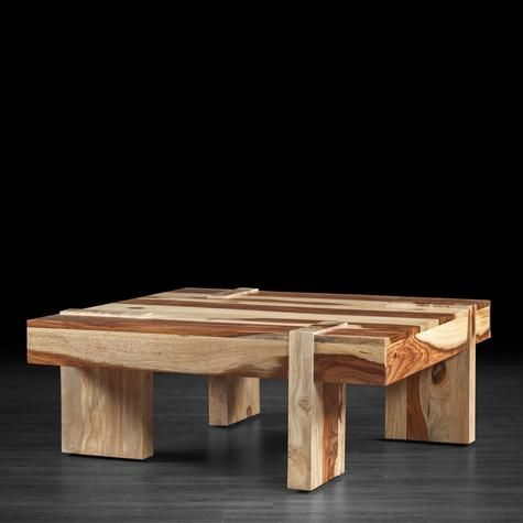 Modern and solid wood ravino coffee table artemano for Meuble artemano