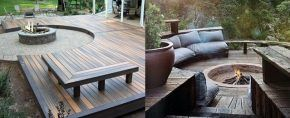 Top 50 Best Patio Firepit Ideas – Glowing Outdoor Space Designs