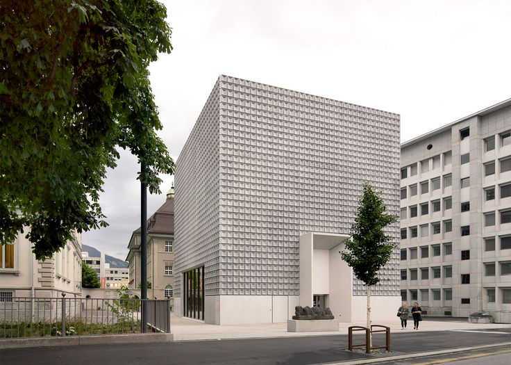 Barozzi Veiga completes concrete extension to Swiss museum