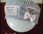 Bonnet - berêt Pastels et Elégance : Mode Bébé par mamountricote