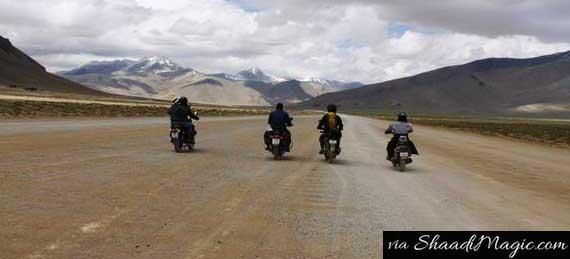 Lastly, don't miss out to take the High Road Passes between Manali and Leh. You will drive through the most beautiful scenic mountain sides in the Himalayan Region.