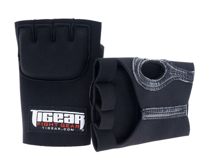 how to put on wraps under boxing gloves