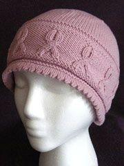 Ribbons Hat Knit Pattern from www.AnniesCatalog.com. Shop all knit hats: http://www.anniescatalog.com/knit/list.html?mode=list&offset=0&limit=51&cat_id=1004&filter_id=2