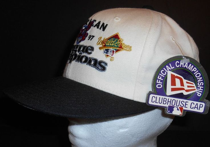 Nwt New Era American 1997 Indians League Champions Hat Clubhouse Cap NOS #NewEra #ClevelandIndians