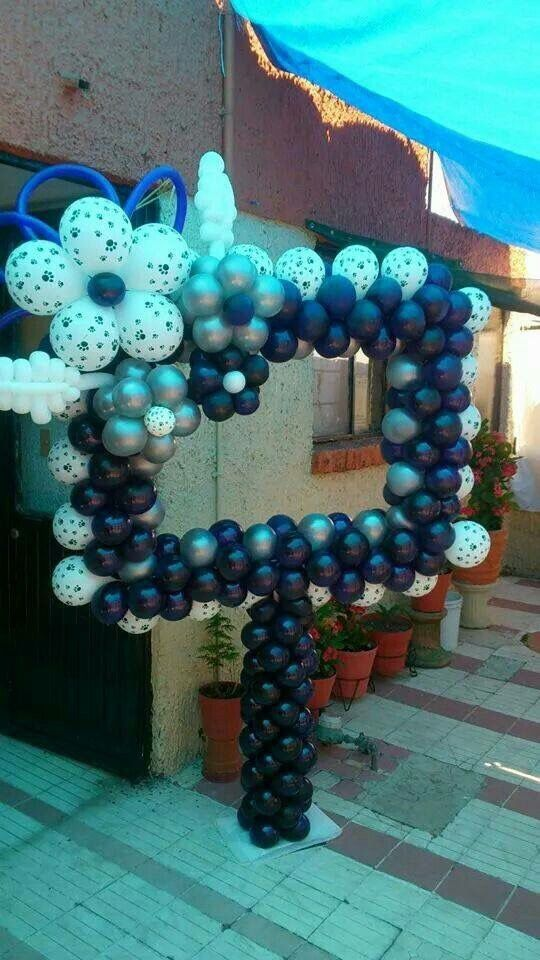 35 best Marcos de globos para fotos images on Pinterest   Balloon ...