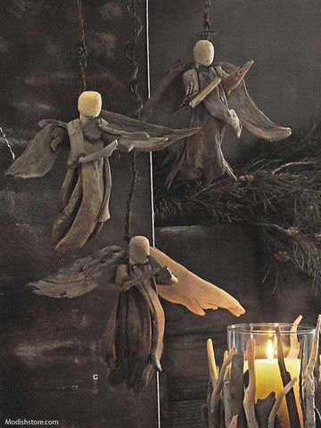 Roost Driftwood Angels