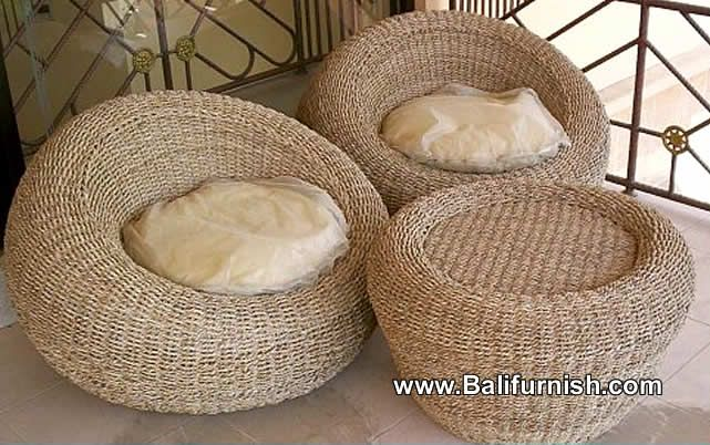 Seagrass Furniture Factory in Indonesia Producer Manufacturer of Sea Grass Furniture from Indonesia