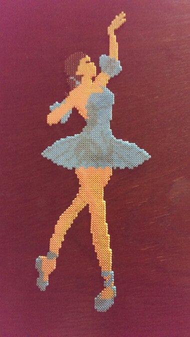 Ballerina #hama #ballet #perler