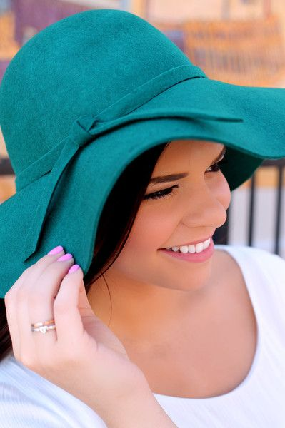 Green Floppy Hat | UOIonline.com: Women's Clothing Boutique