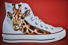 Giraffe - Converse Personalizados   Giannella