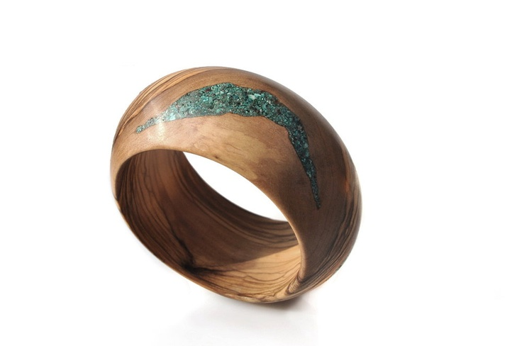 olivewood: Cuffs Bracelets, Jewels Inlay, Classy Olivewood, Gorgeous Jewelry, Wooden Rings, Wood Rings, Wood Bracelets, Future Jewels, Olives Wood