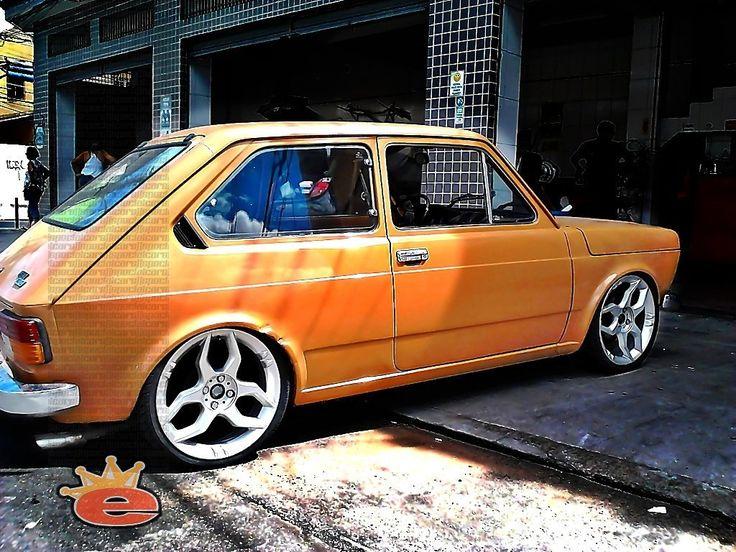 Fiat 147 rebaixado com rodas aro 17 | [SpecialCars]