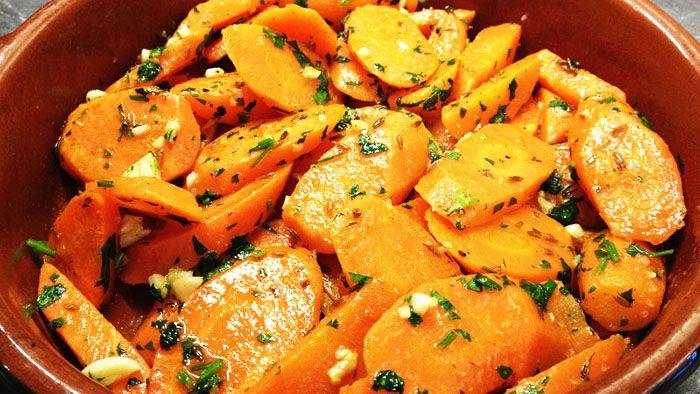 carottes et les gousses l ail