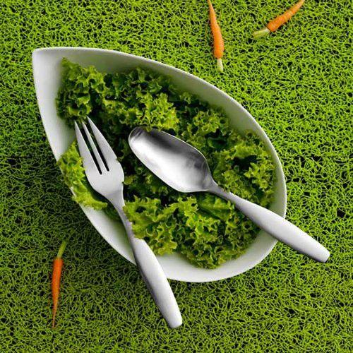 Gense Tulipa salatsæt er med til at gøre salatskålen mere smagfuldt og appetitlige ud når den skal serveres. Se også her: http://bestiksaet.dk/tilbud-bestik/gense-bestikaet/tulipa-2368/gense-tulipa-salatsaet.html