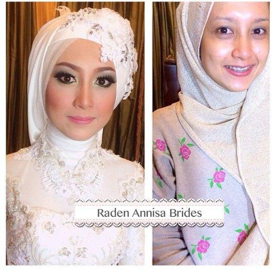 #makeup #brides #hijab