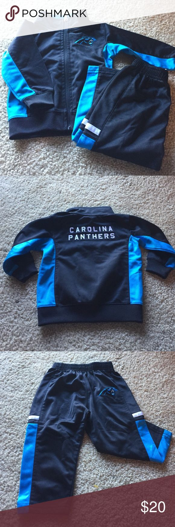 Carolina Panthers Track Suit NFL Track Suit NFL Matching Sets