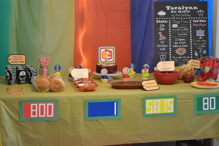 The Price is Right Party + FREE printables! Price is Right Themed Birthday Party