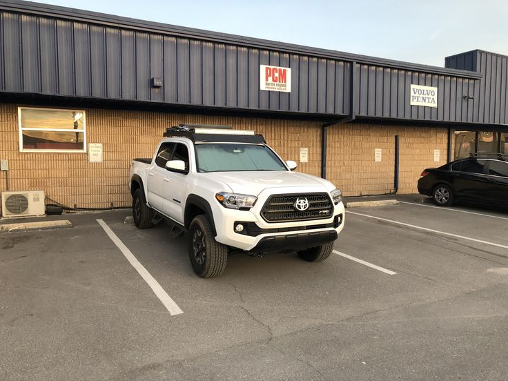 2017 Toyota Tacoma Trd Off Road Prinsu Roof Rack Toyota