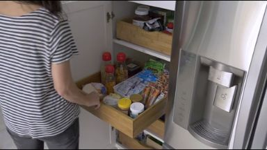 7 Ways to Organize Your Pantry — Use these 7 simple tips to help get your kitchen in order. Brought to you by HGTV and @shawfloors