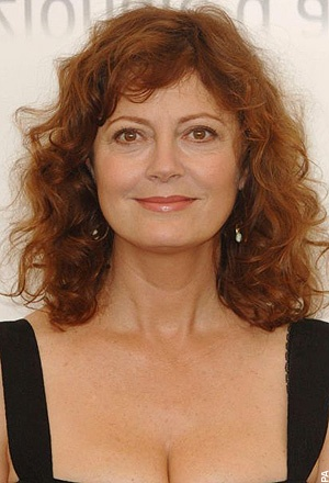 Susan Sarandon - 65. She is so great. So real. From Janet (in Rocky Horror Picture Show) to Louise (in Thelma & Louise) and beyond.... I have loved all her roles