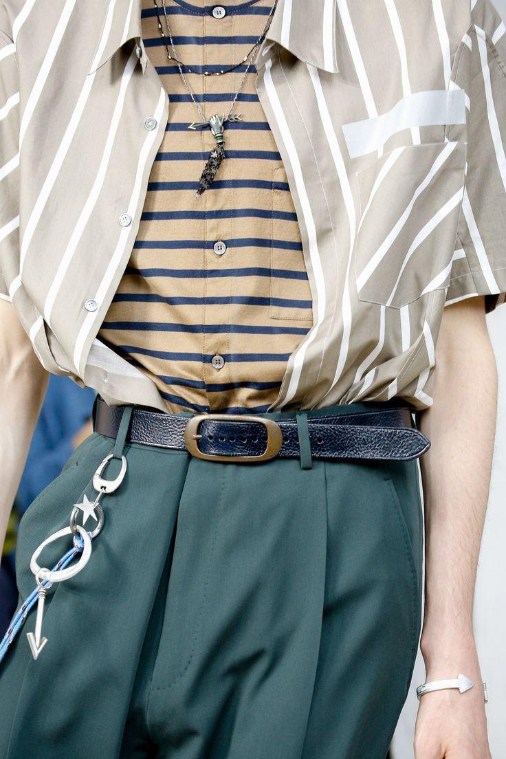 Lanvin Spring 2017 Menswear Fashion Show Details