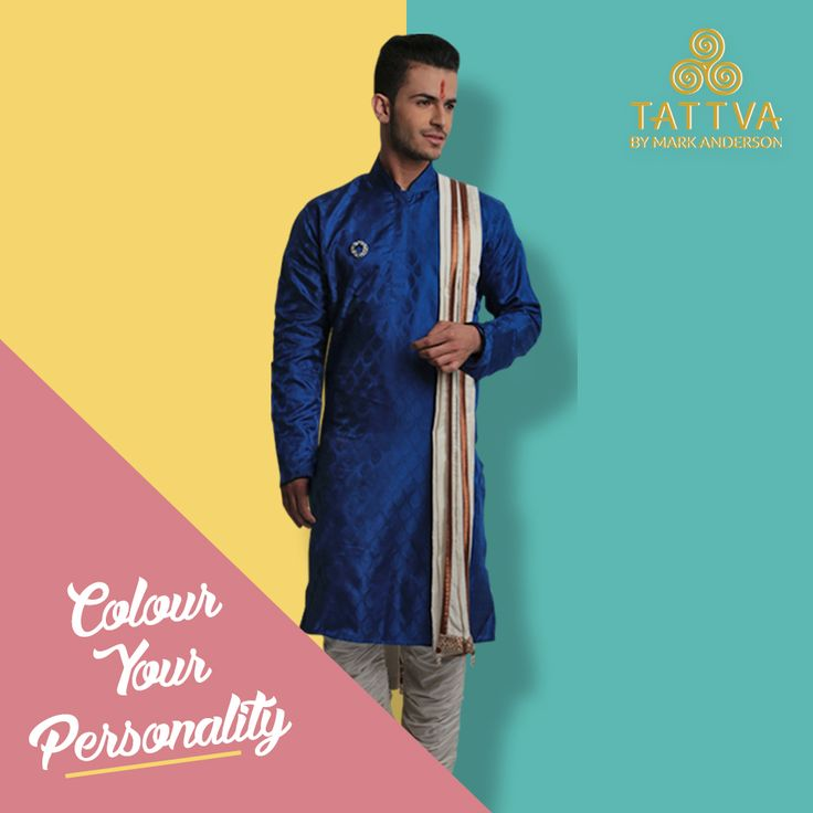 This summer, lighten up your personality with Tattva By Mark Anderson's brand new collection of traditional wears! Find our designs on all major online stores.