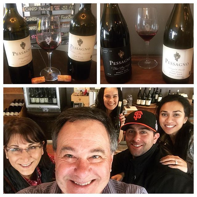 Second stop along the @riverroadwinetrail is at @pessagno_winery to taste through the current lineup.  Got to meet my IG friend @damnmom IRL who manages the tasting room. Tasted the pinot noir Rosé and the pinot noir from the 4 Boys vineyard in Santa Lucia Highlands along with tannat and few red Bordeaux blends from Pedregal Vineyard in Paicines.  Ray Franscioni is the mastermind of the Bordeaux style wine from Pedregal, which is awesome. Another nice spot along the River Road Wine Trail…