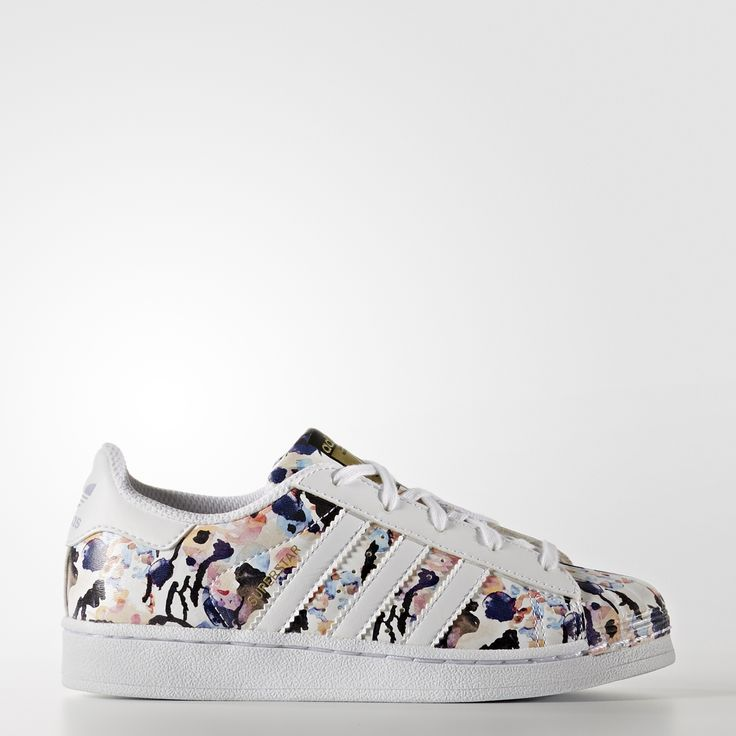 superstar blanche et noir brillant superstar adidas enfant