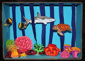 Pin Shark Habitat Diorama on Pinterest