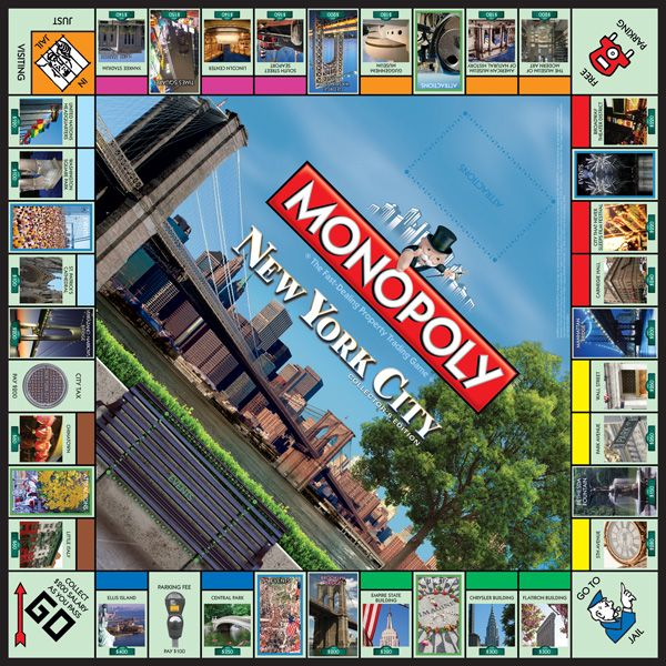 MONOPOLY®: New York City Collector's Edition | Monopoly | USAopoly