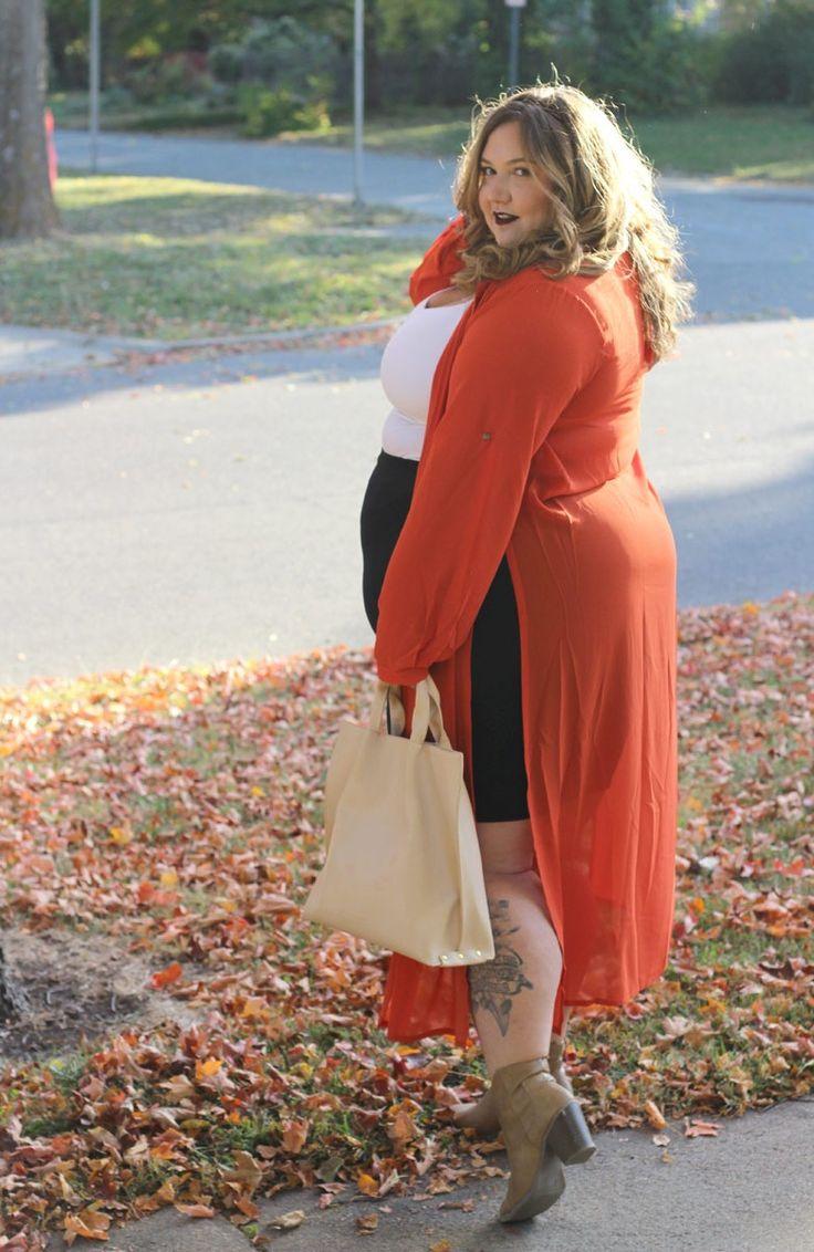 Fat Girl Meets Fall Fashions // Fatgirlflow.com