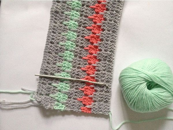 Crochet Stitches Larksfoot : ... Crochet Larksfoot Stitch, Larksfoot Tutorial, Larksfoot Crochet Stitch