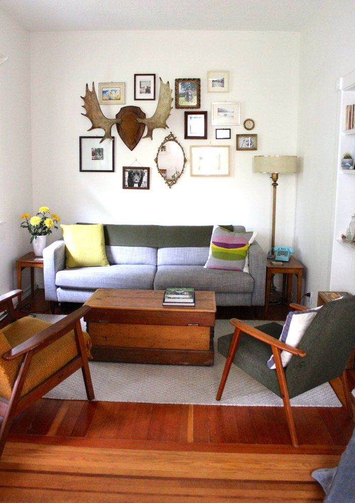 Like the living room and wall gallery
