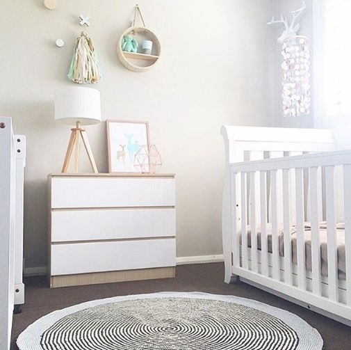 Divine nursery inspiration featuring a Mocka Jolt Drawers 3 by Myhomestyle89.