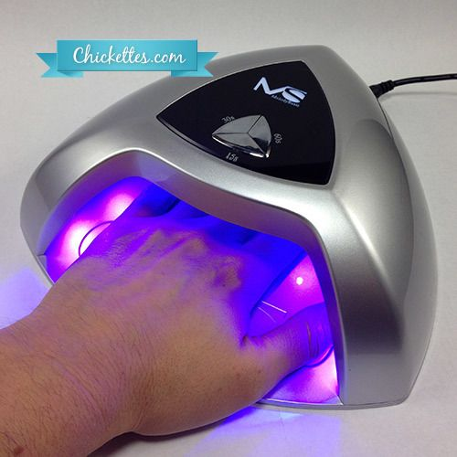 MelodySusie 24-Watt LED Nail Lamp - video review by Chickettes.com