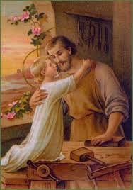 San José y el divino niño Jesús