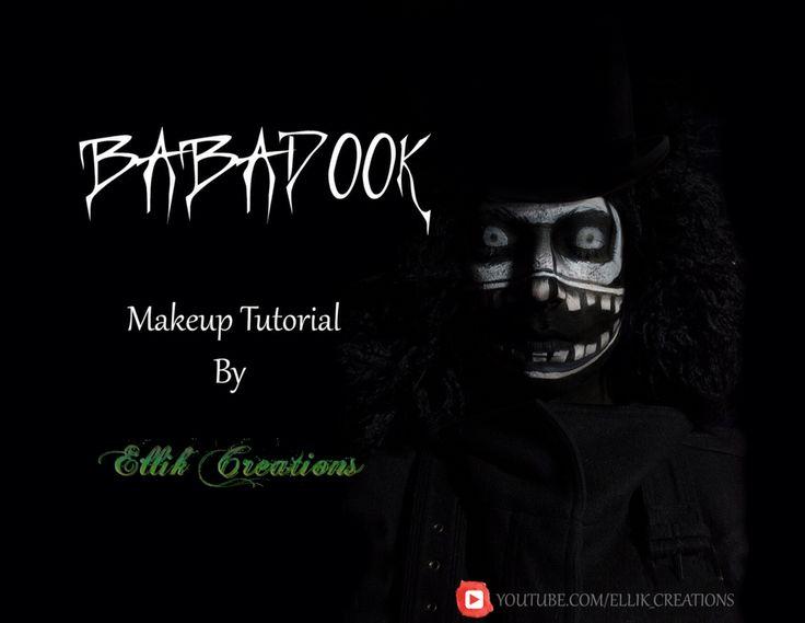Babadook dook dook doooooooooook!!! Makeup tutorial by Ellik Creations NOW on Youtube!!