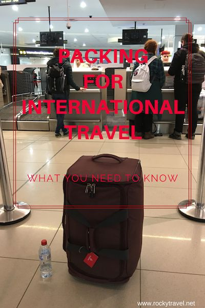 The ultimate guide about Packing for International Travel.