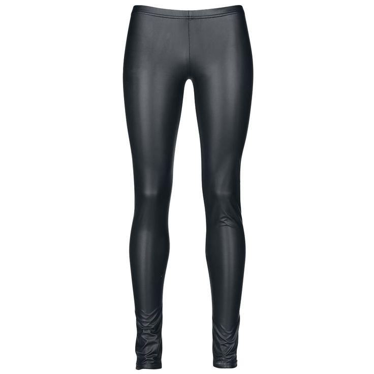 Leatherlook Leggins (Black Premium by EMP) Leggings jetzt kaufen! EMP