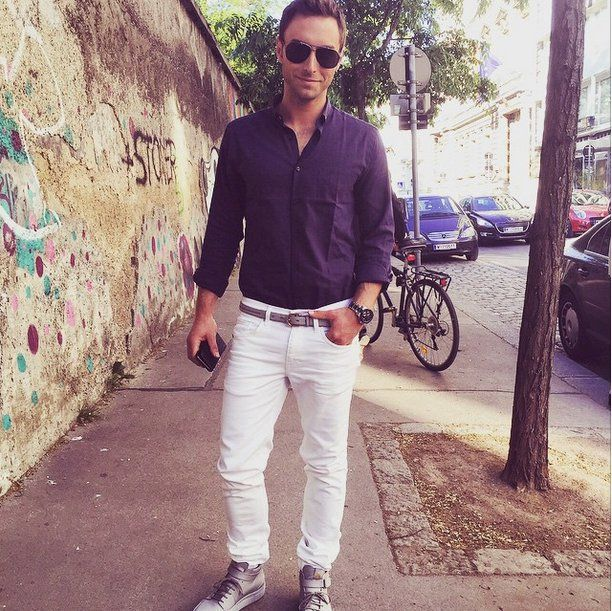 Pin for Later: The Hottest Pictures of Måns Zelmerlöw, Winner of the 2015 Eurovision Song Contest Or Super Casual