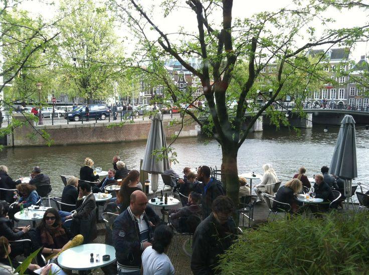 Café de Jaren in Amsterdam, Noord-Holland