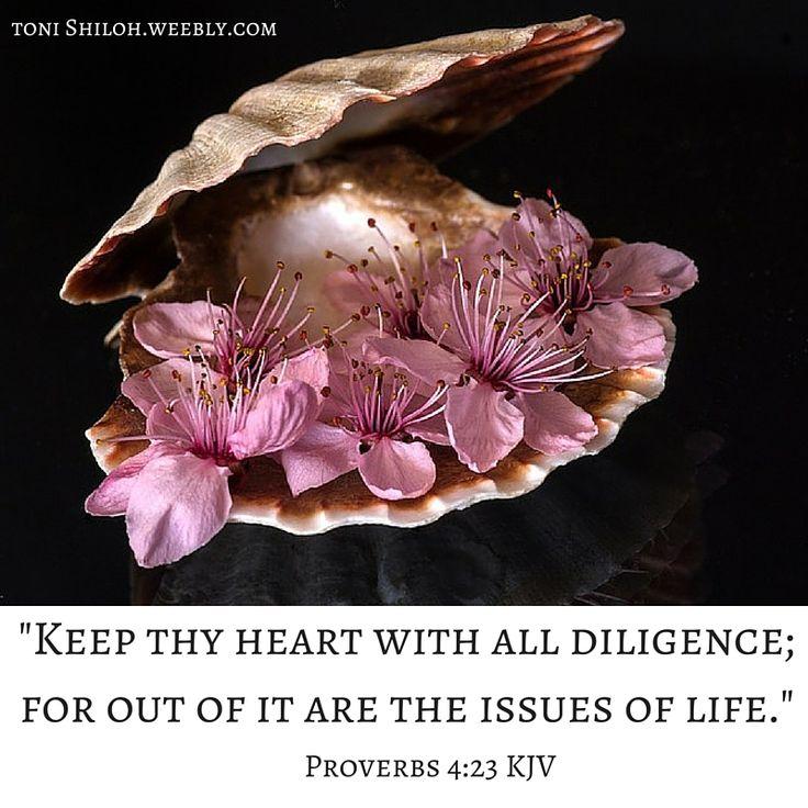 Proverbs 4:23 KJV