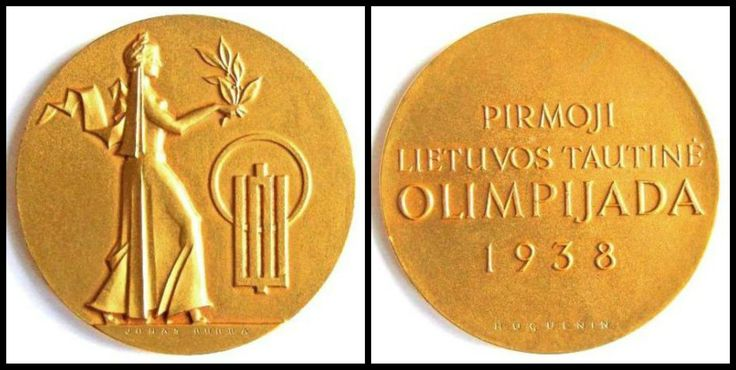 First Lithuanian National Olympic Games, 1938
