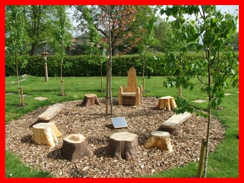 "The ""campfire"" style of environment could be effective in the outdoor classrooms. Everyone can share ideas in a circular environment and feels more inclusive"
