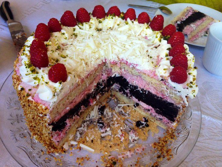 I sidste uge fik jeg besøg af min mors strikkeklub, de have hyggedag i Aalborg - og jeg havde lovet at give kaffe og kage. Jeg kiggede en d...