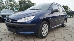 Peugeot 207 1.4 Benz - 75 KM 2004r. Po opłatach