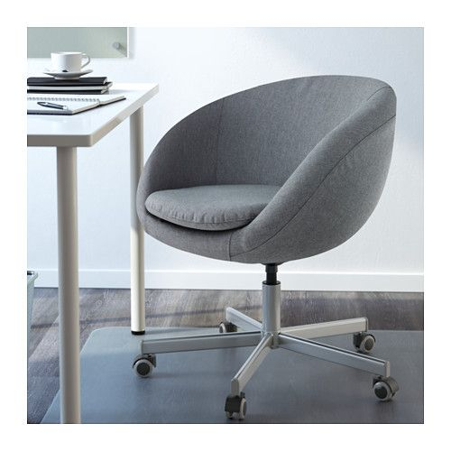 Ideal IKEA SKRUVSTA swivel chair You sit fortably since the chair is adjustable in height