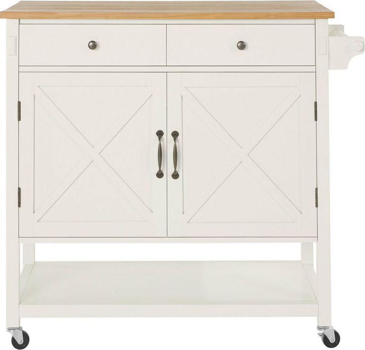 Home affaire Küchenwagen »Cross« für 399,99€. FSC®-zertifiziertes, teilma…  # Küche